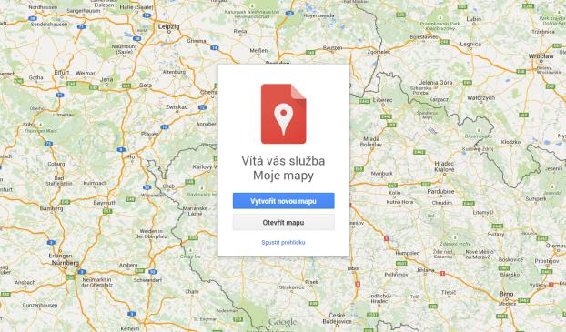 moje mapy