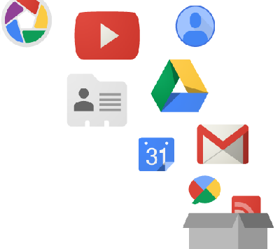 Stáhněte si svá data z Google účtu