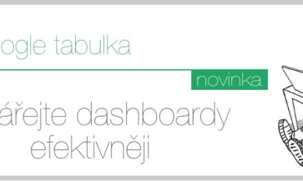 Jak vytvářet efektivní dashboardy v Google tabulce jednodušeji