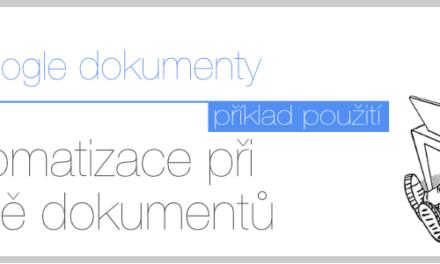 Uspořte čas, peníze díky automatizovanému vytváření dokumentů